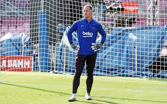 Pictures: Barcelona hold intersquad friendly in Sunday training ahead of Napoli clash