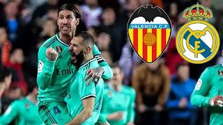 Реал Мадрид - Валенсия смотреть онлайн эфир бесплатно 08 января 2020 прямая трансляция в 22:00 МСК.