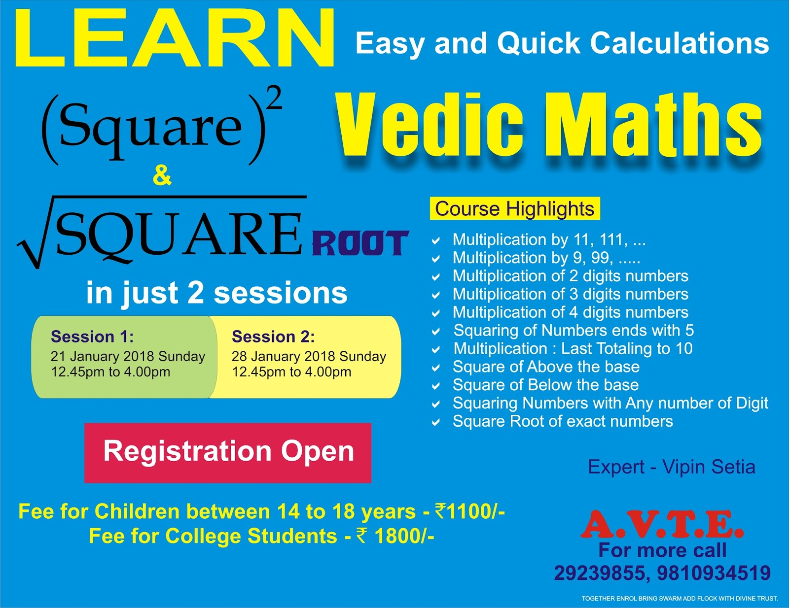 Maths4all: VEDIC MATHS