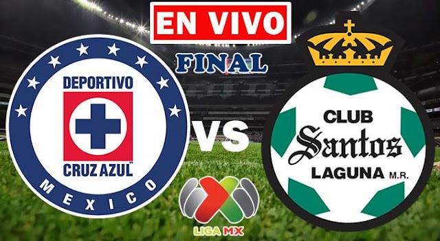 EN VIVO | Cruz Azul vs. Santos, Final de la LigaMX 2021 ¿Dónde ver el partido en TV online gratis en internet?