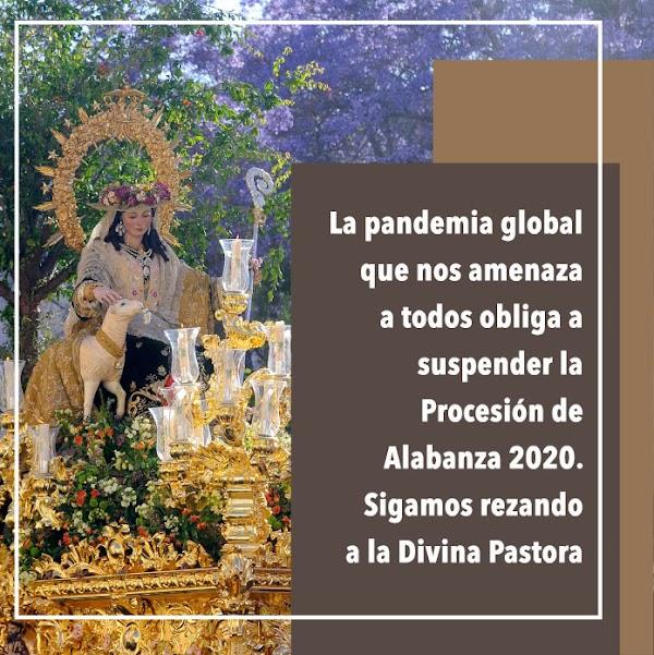 El coronavirus también obliga a cancelar la procesión de la Divina Pastora