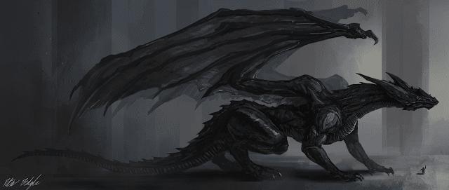 Black-Dragon-wallpaper-4k