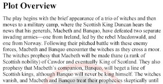 Macbeth by Shakespeare Summary, Themes and Notes BA English Literature