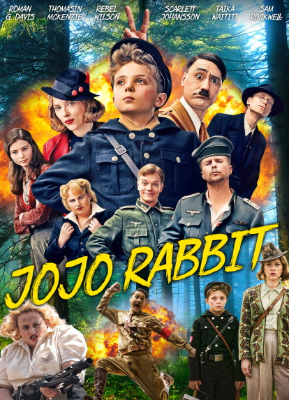 Pelicula Jojo Rabbit (2019) HD 1080P LATINO/INGLES Online imagen