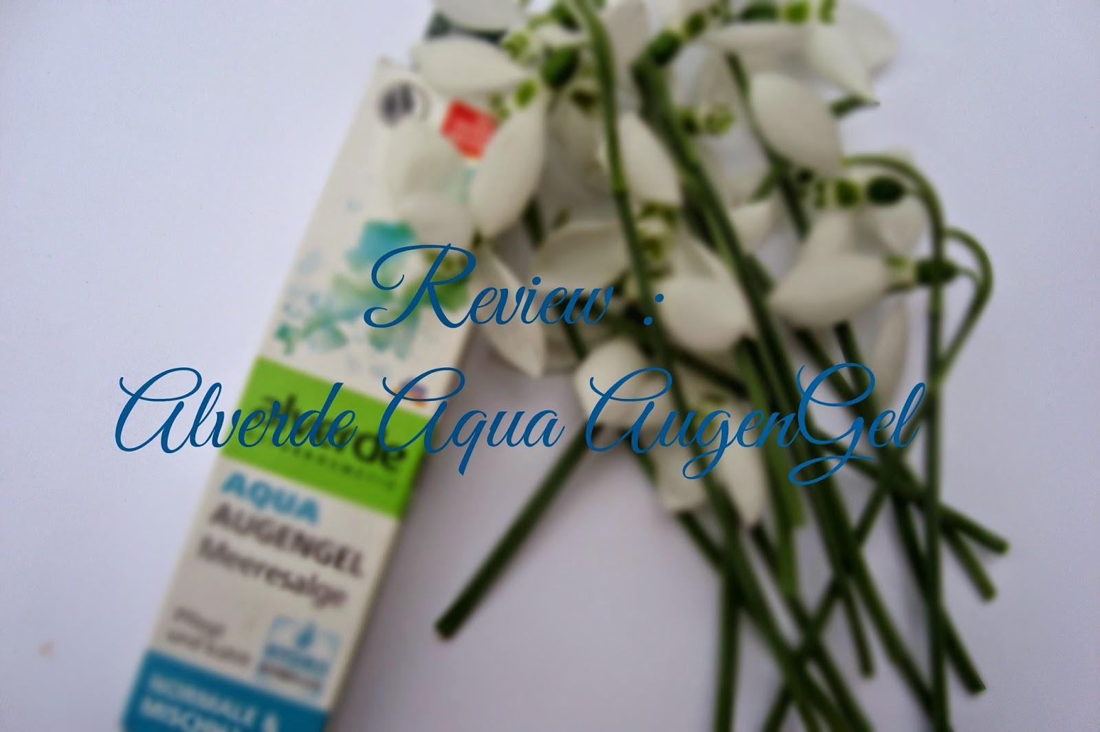 Alverde Aqua Augengel review