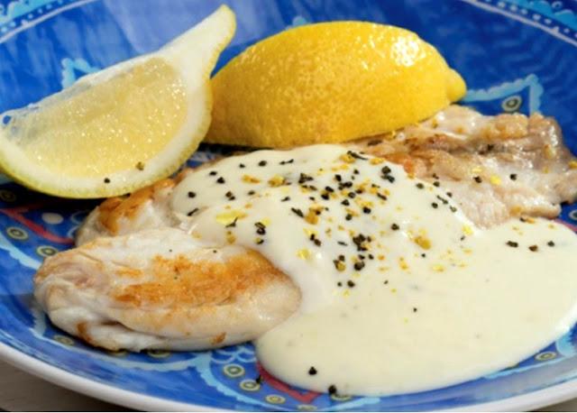 Peixe ao Molho de Limão Siciliano