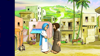 Maria e josé eram noivos
