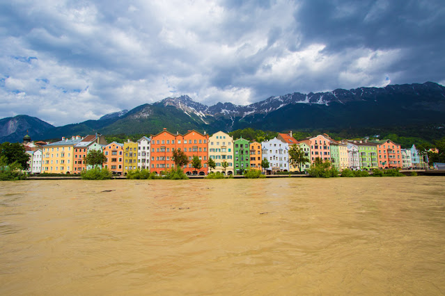 Rainbow houses-Innsbruck