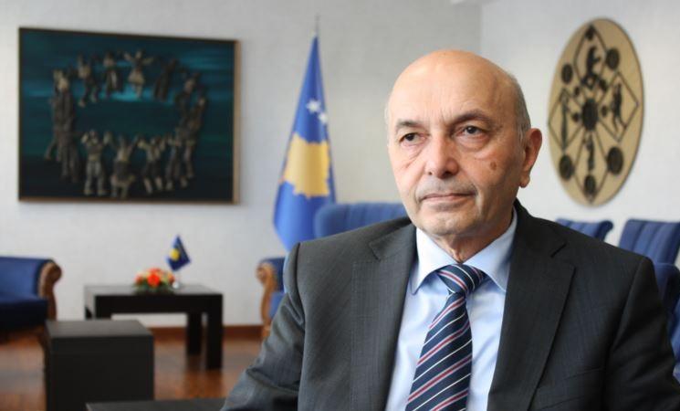 Kosovo Prime Isa Mustafa