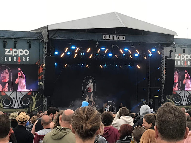 Andrew W.K at Download UK 2018