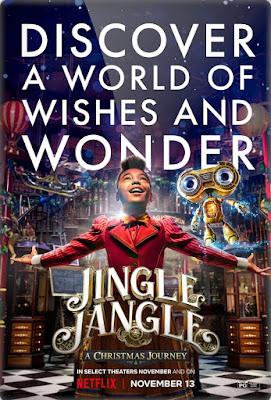 Jingle Jangle: A Christmas Journey (2020) [Dual Audio 5.1ch] 720p | 480p HDRip ESub x264 [Hindi-Eng] 1.1Gb | 400Mb