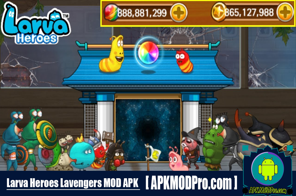Download Larva Heroes: Lavengers MOD APK 2.6.7 (Full All Unlocked) For Android