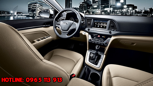 Nội thất Hyundai Avante 2016