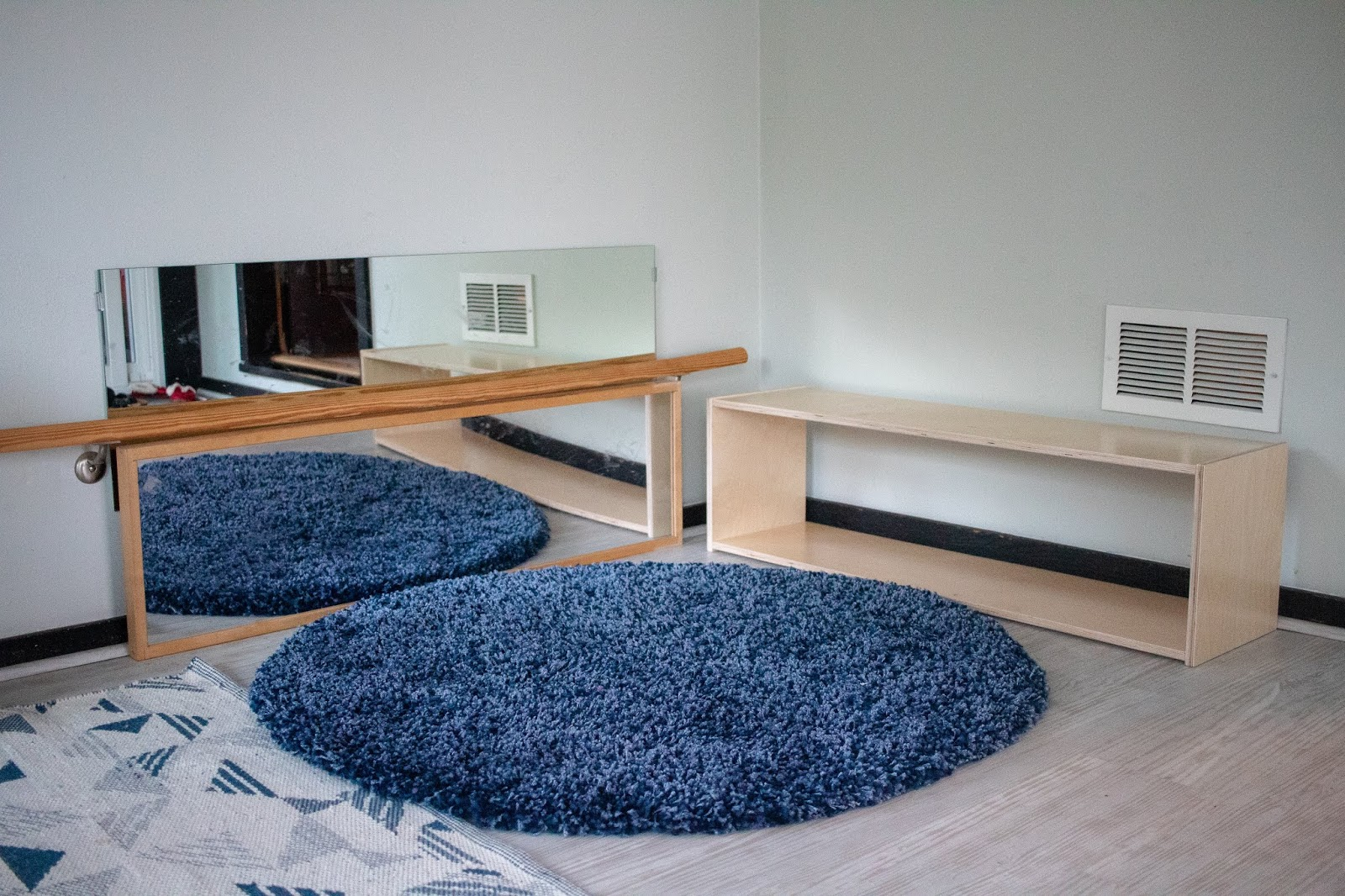 A comprehensive look at the similarities and differences between a Montessori infant sleep space and a Montessori movement area.