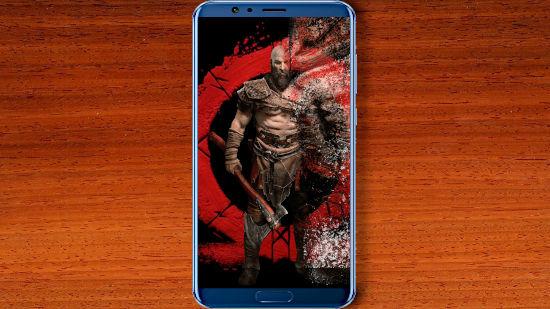 Kratos God of War Artwork - QHD pour Mobile