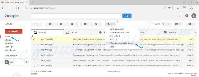 cara-filter-email-gmail