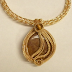 Judy Larson's Sea Grass Inspired Woven Pendant Tutorial