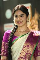 Adah Sharma looks super cute in Saree at IIFA Utsavam Awards 011.JPG