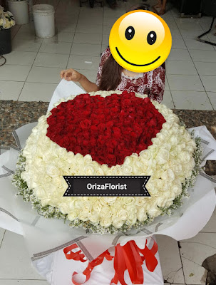 toko bunga valentine di surabaya, pesan bunga valentine di surabaya, bunga valentine murah surabaya