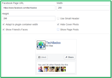 how to add facebook likebox