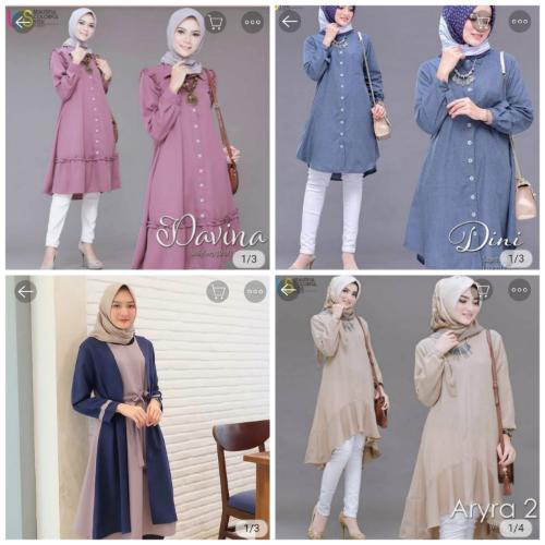 Memilih Baju Tunik untuk Penampilan Muslimah yang Syar'i