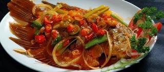 Resep Masakan Ikan Gurame Asam Manis dan Gurih
