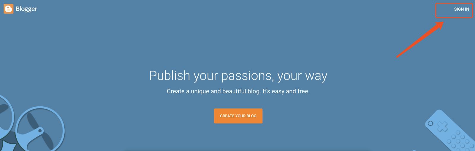 blogger博客平台