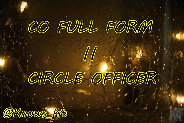 CO Full Form ? Full Form Of CO Full Details !