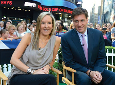 Mike Greenberg with his wife Stacy
