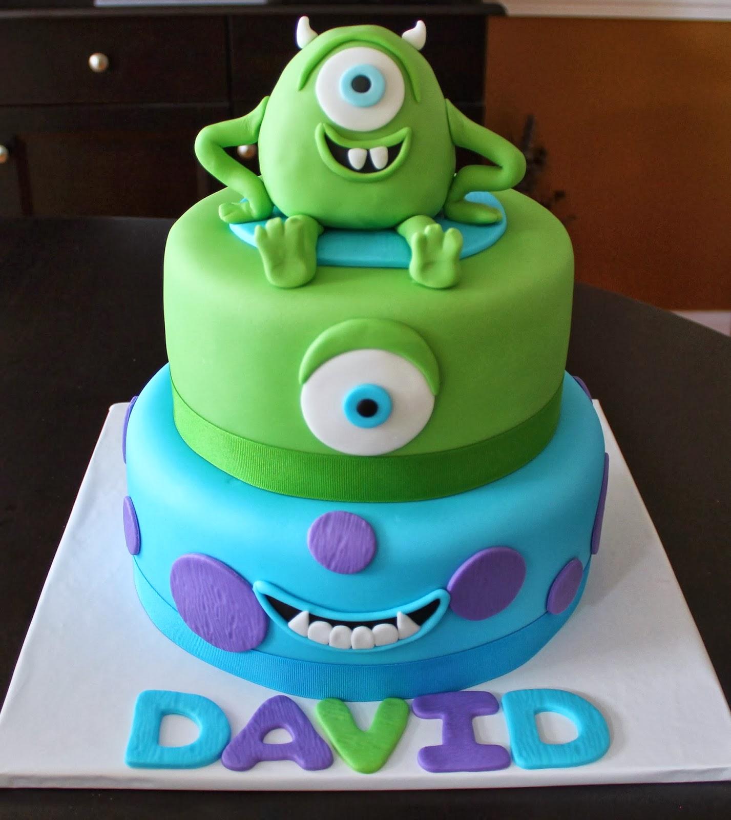 Creative Cakes by LynnMonster University Mike Wazowski Cake