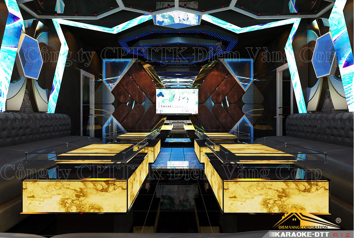 Thiết kế phòng karaoke 3D Ảnh Full chất lượng cao 44