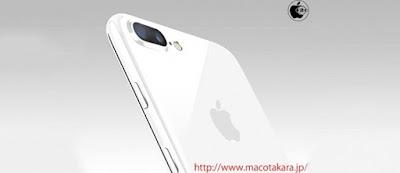 Iphone varian warna baru Jet white