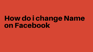how to change my name in facebook before 60 days