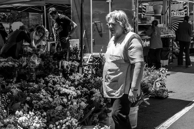 A vendedora de flores