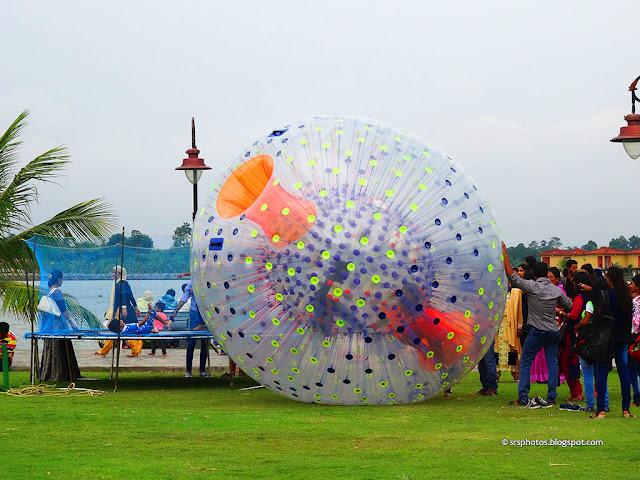 Land Zorbing, Eco Tourism Park, Kolkata