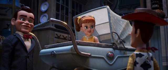Toy Story 4 Gabby Gabby and Benson in Second Chance Antiques