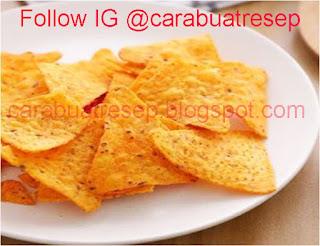 Foto Resep Keripik Doritos Snack Renyah Crispy Sederhana Spesial Asli Enak