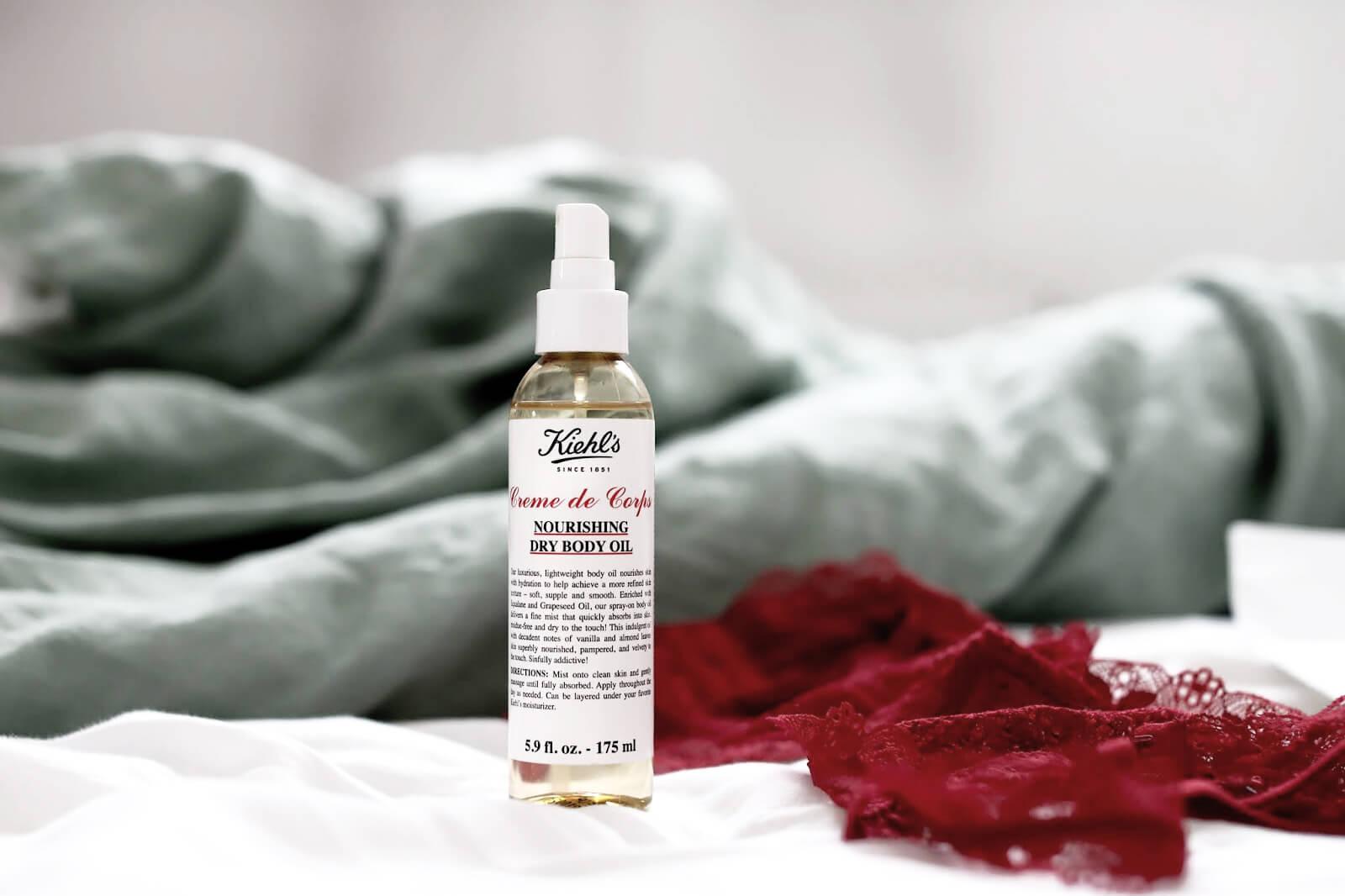 Kiehl's Nourishing Body Oil revue