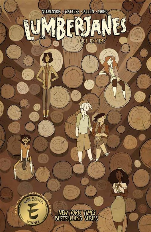 Lumberjanes Vol. 4: Out of Time by Noelle Stevenson and Shannon Watters