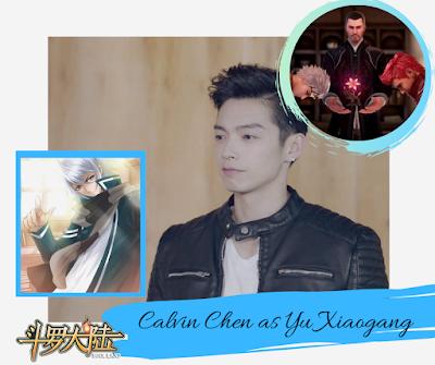 Douluo Continent: Calvin Chen as Yu Xiaogang/Da Shi