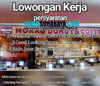 Bursa Kerja Surabaya di Mokko Donuts & Coffee Mojokerto November 2020