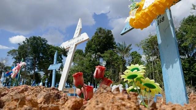 Brasil ultrapassa 350 mil óbitos por Covid-19 e registra 2.616 mortes em 24h