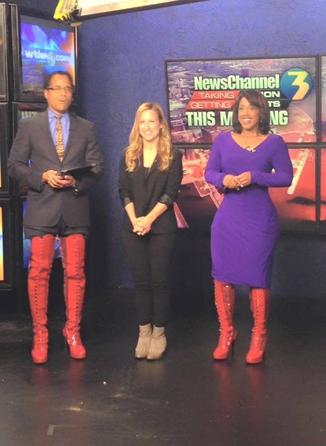 THE APPRECIATION OF BOOTED NEWS WOMEN BLOG : WTKR'S JESSICA