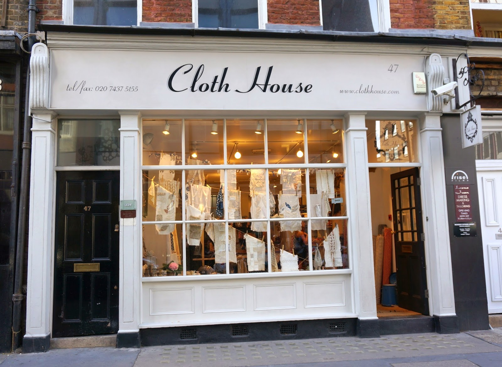 The Cloth House, London - Diary of a Quilter - a quilt blog : quilt shops london - Adamdwight.com