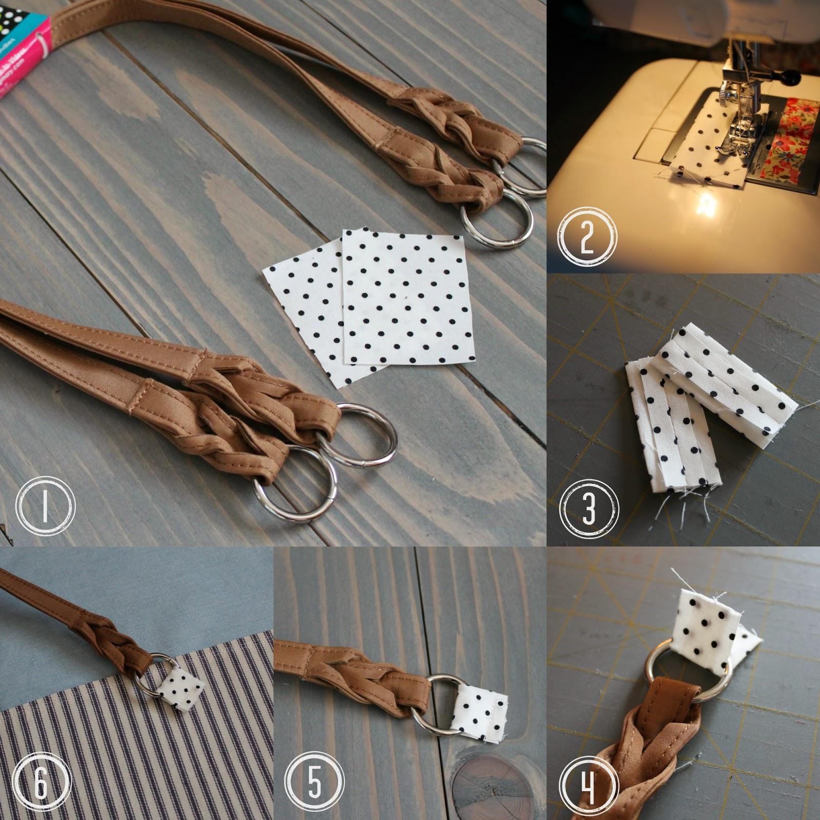 Tutorial Adding Commercial Handles To Handmade Bags