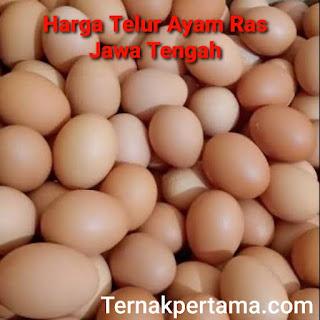 Harga Telur Ayam Ras Jawa Tengah
