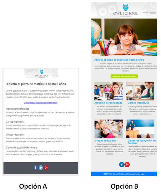 comparativa plantillas email marketing