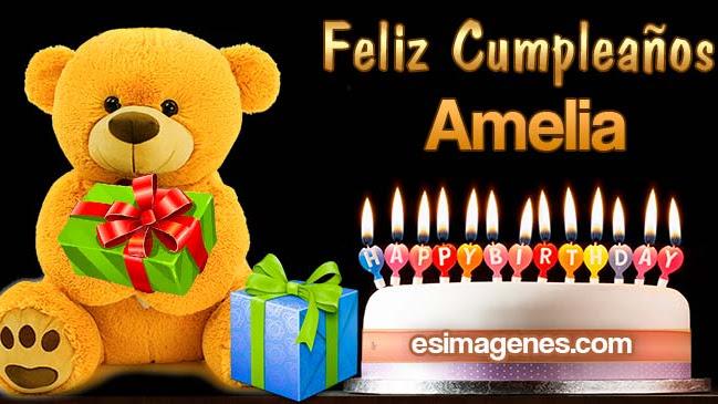 Feliz Cumpleaños Amelia