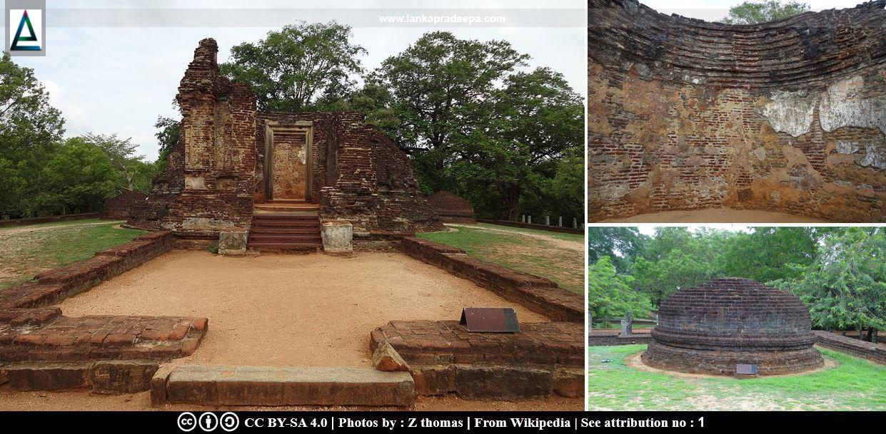 Pothgul Vehera, Polonnaruwa