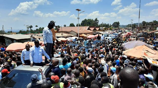 Deputy President William Ruto meeting in Nyamira